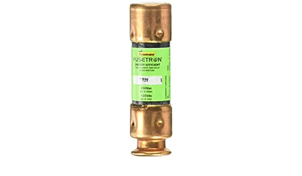 Bussmann FRN-R-35 35 Amp Fusetron Dual Element Time-Delay Current Limiting Fuse Class RK5 250V UL Listed