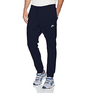Nike Sportswear Men's Jogger Pants (Large, Obsidian/White)