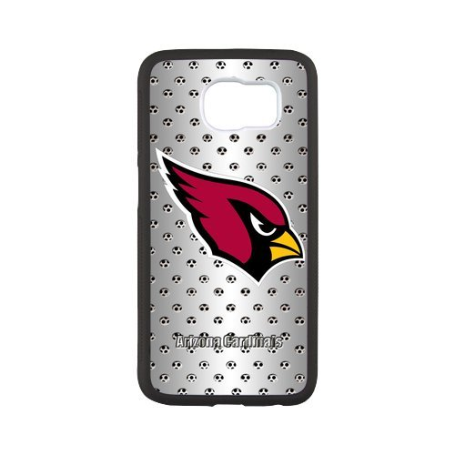 Fayruz- Personalized Protective Hard Textured Rubber Coated Case Cover for Samsung Galaxy S6 - Arizona Cardinals -S6O167