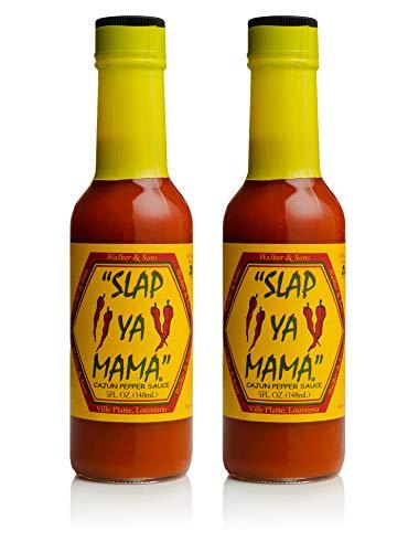 Slap Ya Mama 2 Piece Cajun Pepper Sauce, 5 -