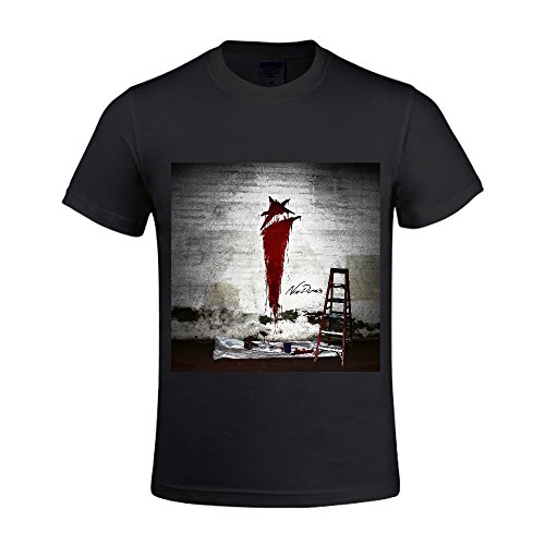 i-see-stars-new-demons-men-t-shirts-round-neck-casual-black