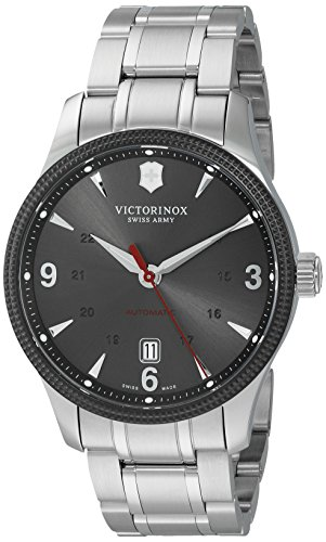 Alliance Swiss - Victorinox Men's 'Alliance' Swiss Stainless Steel Automatic Watch (Model: 241714)