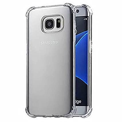 huge selection of ef16c 33d6c Pingin Samsung Galaxy S6 Edge Back Cover Transparent: Amazon.in ...