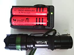 CREE Led Mini Flashlight Torch Zoom Adjustable from MECO