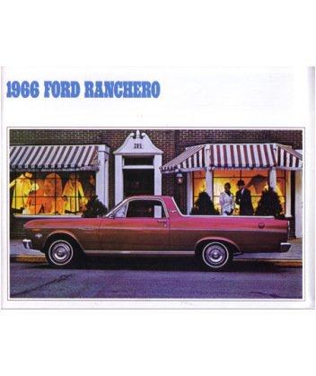 (1966 FORD RANCHERO Sales Brochure Literature Book)