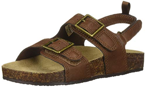 OshKosh B'Gosh Bruno Boy's Casual Sandal, Chocolate, 12 M US Toddler