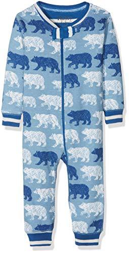 - Hatley Baby Boys Organic Cotton Sleepers, Polar Bear Silhouettes, 0-3 Months