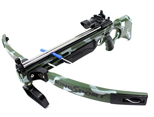 COTTONTAIL Kids Deluxe Action Military Crossbow Set with Scope]()