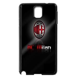 Samsung Galaxy Note 3 Cell Phone Case Black AC Milan Football FFP 5D Back Case