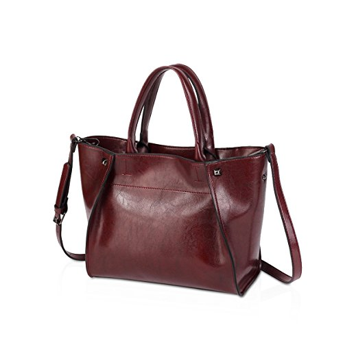 Hobo for Bags amp;DORIS All NICOLE Tote Match Purse Navy Handle Wine Red red Fashion New Women Handbags Shoulder 2018 Ladies' Satchel 71gBxZg8q
