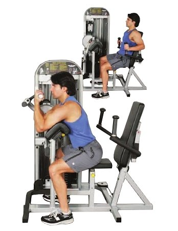 Inflight Fitness Bicep/Tricep by Inflight Fitness