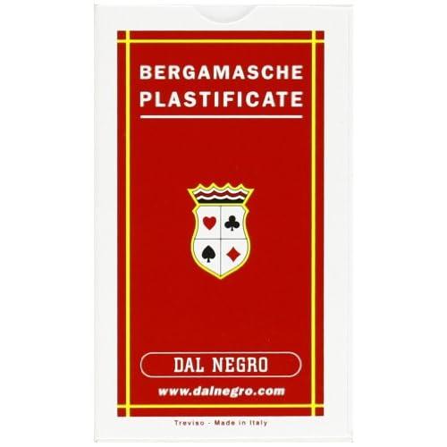 Dal Negro 10050–bergamasche Jeu de cartes régionales, Trousse Rouge