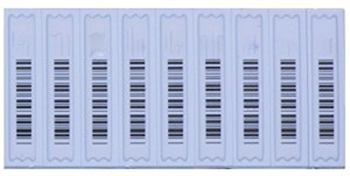 ALL-TAG Fake Barcode, Signatronic AM Labels, Sensormatic System Compatible 5,000 per case by ALL-TAG