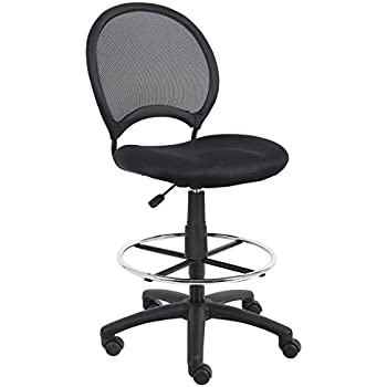 Amazon Com Boss B16215 Mesh Drafting Stool Kitchen Amp Dining