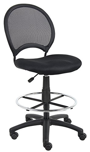 Boss B16215 Mesh Drafting Stool by Boss Office Products