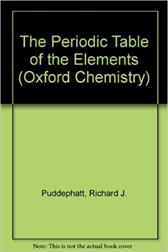 The periodic table of elements oxford chemistry series r j the periodic table of elements oxford chemistry series 2nd edition urtaz Images