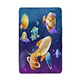ALAZA Home Decor Solar System Planet Soft Warm Blanket for Bed Couch Sofa Lightweight Travelling Camping 90 x 60 Inch solar system planet Size for Kids Boys Women