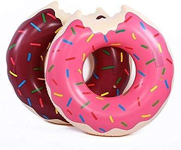 Prinbong Flotador Hinchable con Forma de Donut para Piscina ...