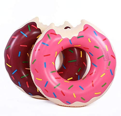 Prinbong Flotador Hinchable con Forma de Donut para ...