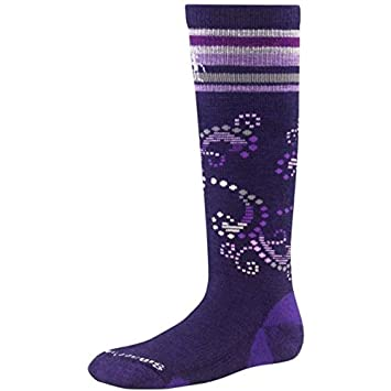 SmartWool Ski Racer Calcetines para ni/ña morado Imperial Purple Talla:medium