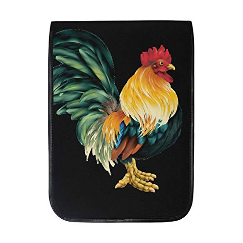 Lifelike Rooster Sleeve Case Compatible with iPad Pro 10.5/9.7 iPad Air/Samsung Galaxy Tab Case Sleeve Carrying Protector Bag