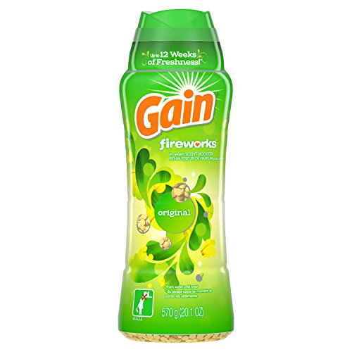 - Gain Fireworks In-Wash Scent Booster, Original, 20.1 Ounce