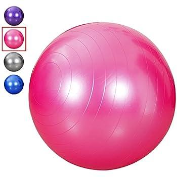 Amazon.com: King Size 95 cm Pelota de ejercicio yoga bola a ...