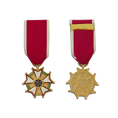 Ira Green Legion of Merit Miniature Medal - Non-Anodized