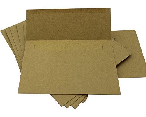 ITIsparkle 50 Kraft A7 Envelopes - 7.25