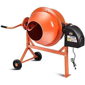 Amazon Com Kushlan Electric Portable Concrete Mixer With