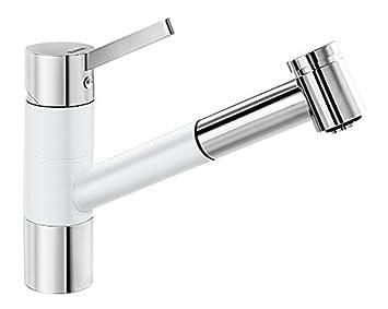 Hervorragend Blanco Tivo S Küchenarmatur   Einhebelmischer Mit Ausziehbarer Brause,  Wasserhahn Für Die Küche,