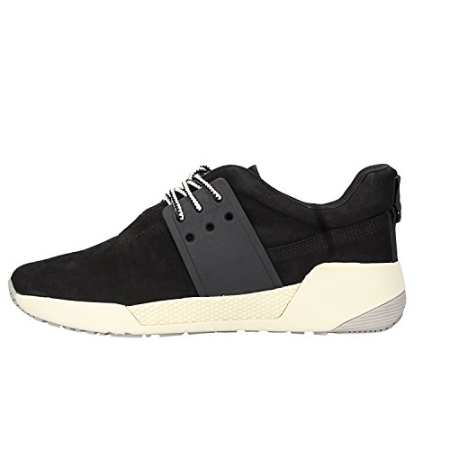 Kiri Oxford Cordones Mujer Leather Zapatos Negro Up para Timberland de 7qTxd7w