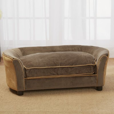 Enchanted Home Pet Panache Mink Brown Pet Sofa, Medium By Enchanted Home Pet