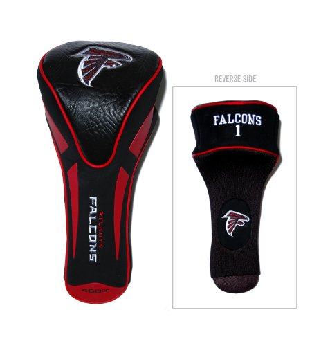 (Team Golf NFL Atlanta Falcons Golf Club Single Apex Driver Headcover, Fits All Oversized Clubs, Truly Sleek)