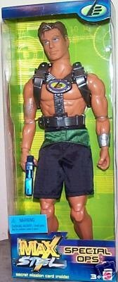 "Max Steel Special Ops 12"" action figure"