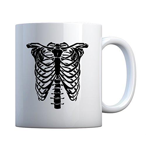 Mug Bones Costume Large Pearl White Gift Mug]()