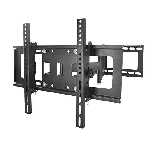 Sunydeal TV Wandhalterung schwenkbar, neigbar, bis 60 Zoll, max. Lochabstand: 500 x 400 mm
