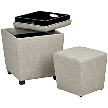 Amazon Com Osp Designs Metro Fabric 2 Piece Storage