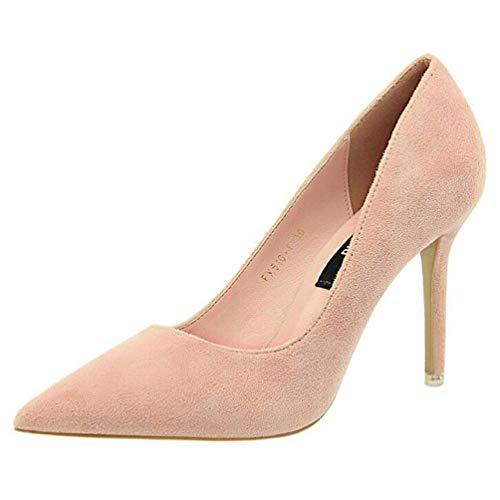 Femme Talons Chaussures Les l'automne Femme Talon Chaussures Haut Chaussures Rose de Escarpins Femmes Bureau Talons Femmes pour de qwC8R