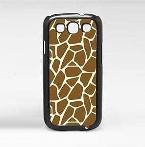 Brown and Tan Giraffe Pattern Animal Print Hard Snap on Phone Case (Galaxy s3 III)