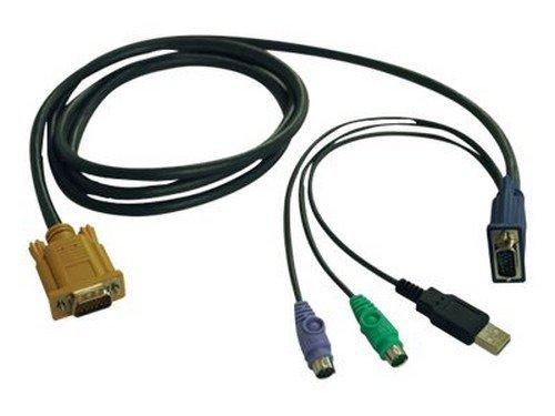- Tripp Lite P778-006 - keyboard / video / mouse (KVM) cable - 6 ft (P778-006) -
