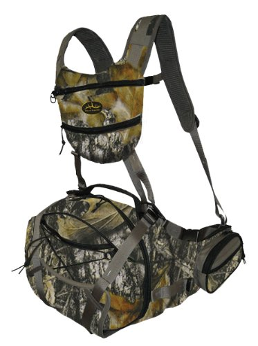 Deluxe Fanny Pack - Sportsman's Outdoor Products Horn Hunter Drop Tine Deluxe Fanny Pack (New Mossy Oak Breakup)