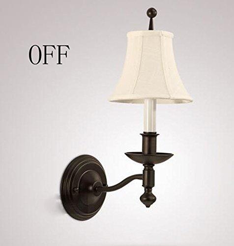 Wandleuchte Licht American country Wohnzimmer Hintergrund Schlafzimmer Wand lampe Korridor Wandleuchte warmen Bett Flur Wandleuchte