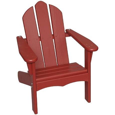 Little Colorado Child S Adirondack Chair Red