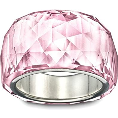 97e04423c995 Amazon.com  Swarovski Nirvana Petite Rosaline Ring  Jewelry