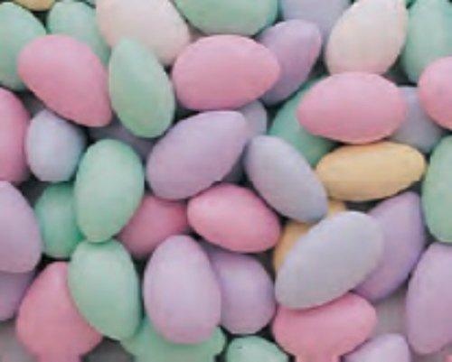 (Assorted Pastel Jordan Almonds 1LB Bag)