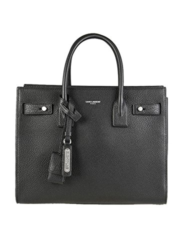 Saint Laurent Women's 477477Dti0e1000 Black Leather Handbag by Saint Laurent