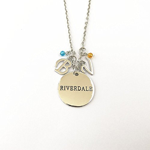 Ivy   Clover Valentines Day Gift Movie Entertainment Tv Jewelry Collection  Riverdale Inspired Charm Necklace Betty   Veronica Charms Style 1