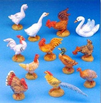 Fontanini Barnyard Birds