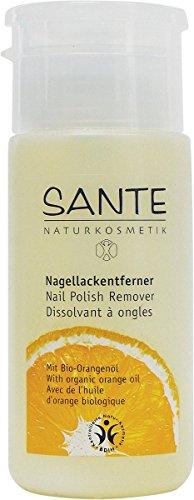 Sante Naturkosmetik Nagellack-Entferner mit Bio-Alkohol 100ml, 1er Pack (1 x 100 ml)